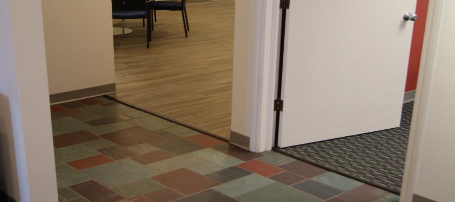 Variety of floor tiles